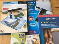 Gloss photo printer paper