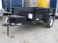 DUMP TRAILERS BY CARRY-ON - SINGLE AXLE 5K