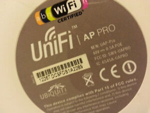 Ubiquiti UAP-PRO UniFi Access Point Enterprise Wi-Fi System