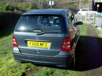 DAMAGED 2005 MERCEDES A CLASS FOR REPAIR OR SPARES