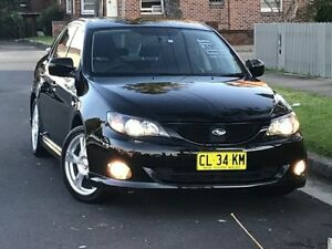 2009 Subaru Impreza G3 RS Sedan 4dr Spts Auto 4sp AWD 2.0i [MY10] Black undefined Croydon Burwood Area Preview