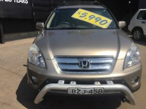 2005 Honda CR-V 2005 Upgrade (4x4) Sport Gold 5 Speed Manual Wagon