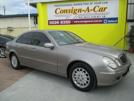 2005 Mercedes-Benz E350 W211 MY06 Elegance Gold 7 Speed Automatic Sedan