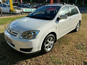 2007 Toyota Corolla ZZE122R 5Y Ascent Sport White 4 Speed Automatic Hatchback Clontarf Redcliffe Area Preview