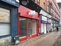 Shop to Let on busy Cathcart Road in Southside of Glasgow - Available Now