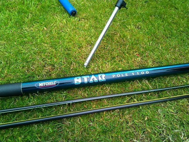 Mitchell fishing pole 11 meters in sandwell west for Mitchell fishing rod