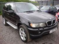 BMW X5 3.0 SPORT 24V 5d AUTO 228 BHP (black) 2002