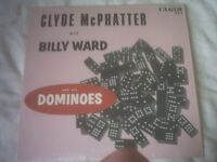 Vinyl LP Clyde Mc Phatter With Billy Ward & His Dominoes (US King 559 Re 1970's £10. +