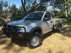 2004 Holden Rodeo RA DX (4x4) Silver 5 Speed Manual Cab Chassis Coonamble Coonamble Area Preview