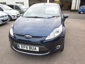 FORD - FIESTA 2011 (11) AUTOMATIC 1.4 PETROL 5 DOOR.....................£5,995.00