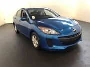 2013 Mazda 3 BL Series 2 MY13 Neo Blue 6 Speed Manual Sedan Clemton Park Canterbury Area Preview