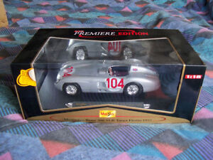 1:18 Scale Diecast model of a 1955 Mercedes Benz 300 SLR Targo F