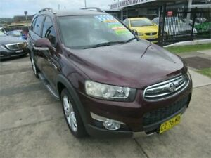 2013 Holden Captiva CG MY13 7 LX (4x4) Burgundy 6 Speed Automatic Wagon