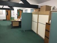 Large office desk in excellent condition