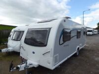 Bailey Pursuit Plus 540/5 berth fixed bunks,end wash,Alutec,All accessories