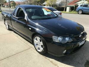 2007 Ford Falcon BF Mk II XR6 Super Cab Black 4 Speed Automatic Cab Chassis Victoria Park Victoria Park Area Preview
