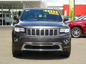 2013 Jeep Grand Cherokee WK MY2013 Overland Grey 6 Speed Sports Automatic Wagon Garbutt Townsville City Preview