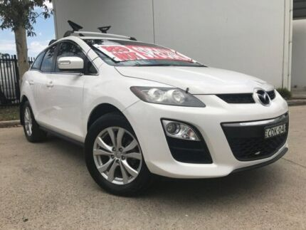 2011 Mazda CX-7 ER Series 2 Classic Sports Wagon 5dr Activematic 6sp 4WD 2.3 White Sports Automatic Oxley Park Penrith Area Preview