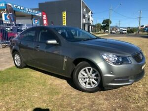 2016 Holden Commodore VF II Evoke Prussian Steel 6 Speed Automatic Sedan