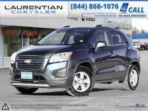2016 Chevrolet Trax LT- ALL WHEEL DRIVE, BACKUP CAM, BLUETOOTH!!