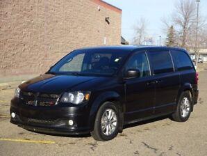 2014 Dodge Grand Caravan RT STOW&GO Navigation (GPS),  Rear DVD,