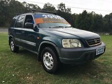 1997 Honda CR-V (4x4) Green 4 Speed Automatic 4x4 Wagon Clontarf Redcliffe Area Preview
