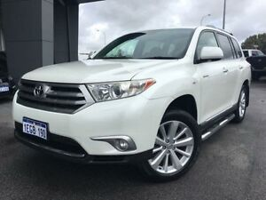 2011 Toyota Kluger GSU40R MY11 Upgrade Grande (FWD) Crystal Pearl 5 Speed Automatic Wagon Beckenham Gosnells Area Preview
