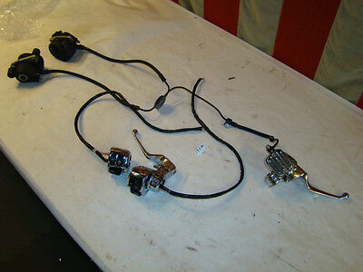 Harley FXR brake calipers + master cylinder switches housings FXRD FXRT EPS17540