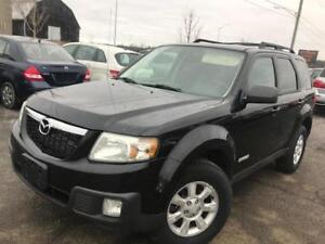 2008 Mazda Tribute GS , leather,heated seats. AWD, certified