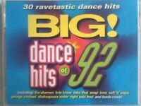A-Z 30 RAVETASTIC BIG DANCE HITS OF 92 DOUBLE ALBUM COMPILATION PRERECORDED CASSETTE TAPES