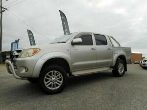 2006 Toyota Hilux GGN25R SR5 (4x4) Gold 5 Speed Automatic Dual Cab Pick-up Wangara Wanneroo Area Preview