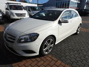 2014 Mercedes-Benz A180 176 BE White 7 Speed Automatic Hatchback Croydon Burwood Area Preview