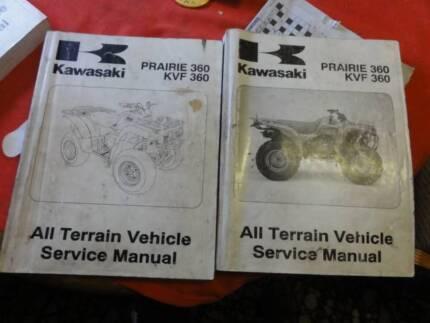 Kawasaki prairie 300 4 x 4 factory workshop service manual c2002 kawasaki 2 x prairie 360 kvf360 factory workshop manuals 2003 fandeluxe Choice Image