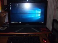 lenovo all in one pc,i3,8gb,1tb.21,5 touch screen.