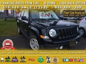 2015 Jeep Patriot North|$63Wk|4X4|Power Group|Clean CarProof|War