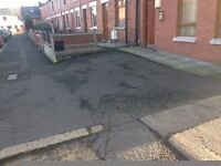 Off road secure parking available ASAP just off tates avenue