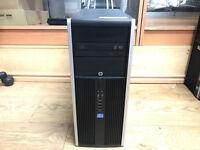 HP Compaq Elite 8300 MT Core i7-3770 3.40GHz 16GB Ram 1TB HDD Win 10 Pro 64-Bit