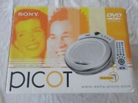 Sony Picot DVD Player Boxed