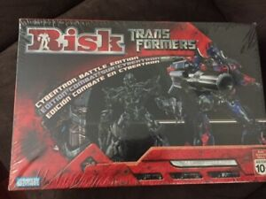 TRANSFORMERS RISK strategy board game (New, sealed)