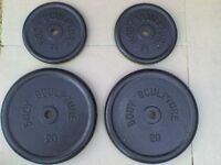 121 lb 55kg Metal Dumbbell Barbell Weights - Heathrow