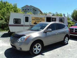 LEATHER! SUNROOF! 2009 Nissan Rogue SL  AWD, EASY FINANCING !