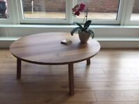 IKEA Round Coffee table-Stockholm in perfect condition (Putney/Roehampton)