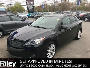 2012 Mazda Mazda3 GT STARTING AT $112.30 BI-WEEKLY