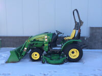 Reduced by $2,000! John Deere 2320 Compact Tractor