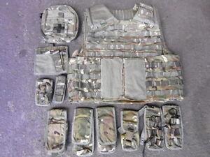 MTP Osprey Body Armour Vest + 10 Pouches 190/120 Multi Terrain Pattern