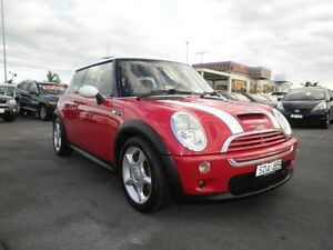 2003 Mini Hatch R53 MY03 Cooper S Black/Grey, Red/White 6 Speed Manual Hatchback Heatherton Kingston Area Preview