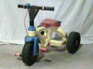 Fisher Price multi-coloured tricycle