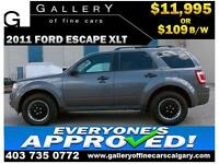 2011 Ford Escape XLT $109 bi-weekly APPLY NOW DRIVE NOW