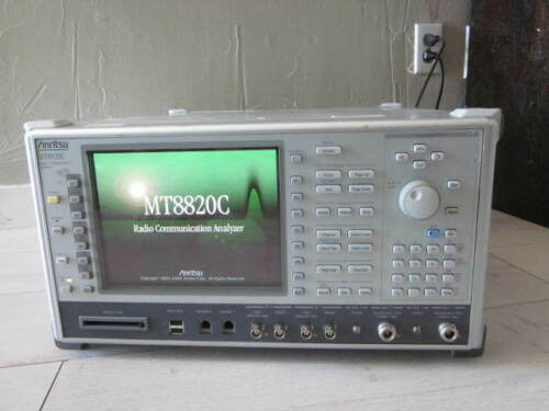 Anritsu_MT8820C : Radio communication Analyzer option 6200785900