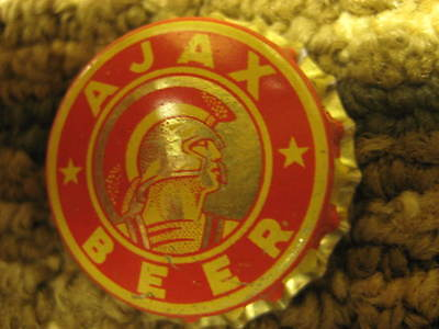 Monarch Bottle Beer Cap Ajax Pre War Cork Seal Brand New Great Shape